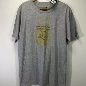 Adidas AFA Argentina team T Shirt soccer futbol